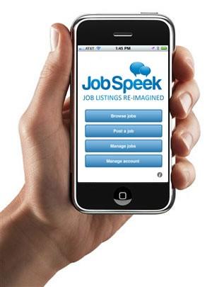 JobSpeek представил первое полноценное рекрутинговое приложение для iPhone