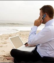 Три четверти американцев в этом году буду работать и во время отпуска