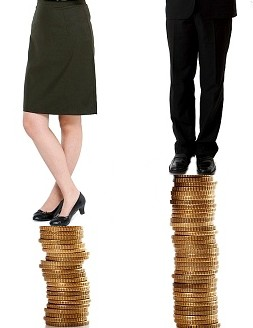 В России зарплата у женщин меньше, чем у мужчин