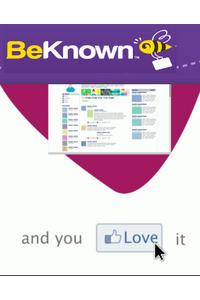 BeKnown повышает степень интеграции с Facebook