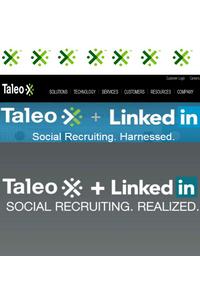 Taleo объявляет о сотрудничестве с LinkedIn