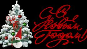 C Новым годом и Рождеством, Merry Christmas and Happy New Year!